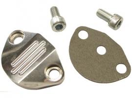 Couvercle de pompe essence en aluminium poli EMPI
