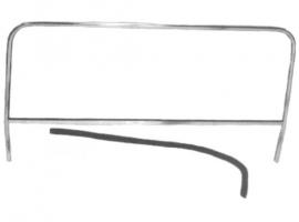 Pare-brise pour buggy avec cadre aluminium