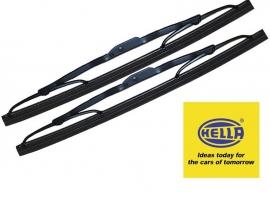 Raclette d' essuie glace 1200/1300/15/1302 (la paire) qualité Hella