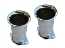 Cornet pour carburateur WEBER IDF 100mm (la paire)