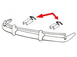 Joints de cache de ferrure pour karmann (les 4)