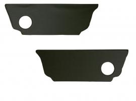 Panneaux d'habillage sous banquette arrière noirs 63- (la paire)