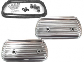 Cache culbuteur aluminium (la paire)