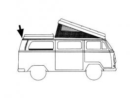 Joint de toit fixe pour Combi 68/73
