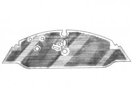 Tapis caoutchouc avant Combi 68/72