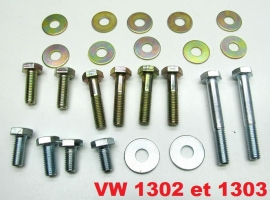 kit visserie M10 de chassis 1302/1303