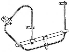 Mécanisme remonte glace gauche 65/68 Q+