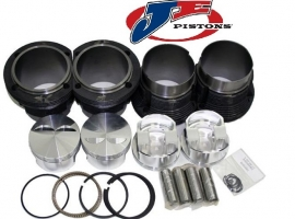 Kit chemises/pistons 103mm X 71 JE forgé (2366cc)