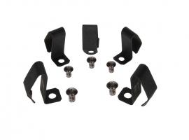 Agrafes + rivets d'enjoliveur (par 5) qualité supérieure