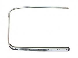 Tour de vitre droit chrome avec lèche vitre ->64 Q+