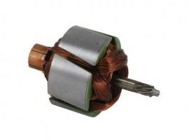 Induit rotor de moteur d'essuie glace 6->12V pour moteur Bosch