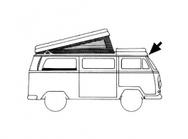 Joint de toit fixe pour Combi 73/79