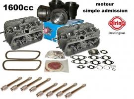 kit moteur 1600cc pour moteur 1300/1500/1600 Simple admission