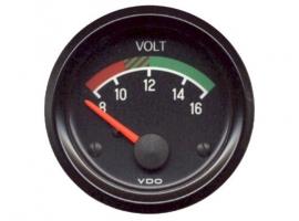 Manomètre voltmètre VDO 12V
