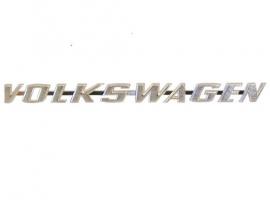 Monogramme VOLKSWAGEN de capot arrière pour coccinelle