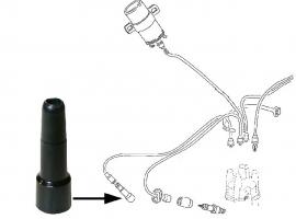 Fiche ou embout de bougie origine 62mm