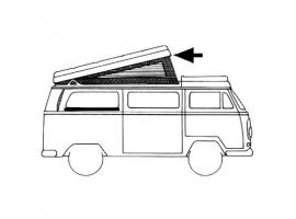 Joint de toit ouvrant westfalia pour Combi 73/79
