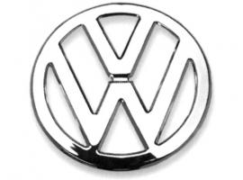 Sigle logo VW chrome pour Combi 68/72