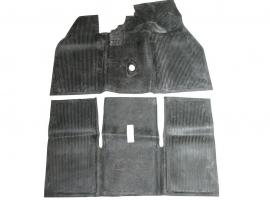 Tapis de sol en caoutchouc avant/arrière 58/67