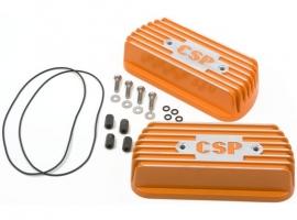 Cache culbuteur CSP orange (la paire)