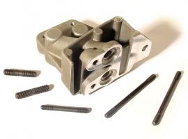 Support de radiateur d'huile aluminium