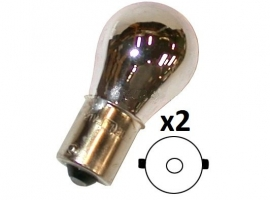 Ampoule 12V 21W chrome (la paire)