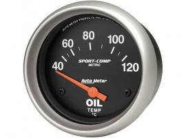 Manomètre température d'huile AUTOMETER 67mm avec sonde