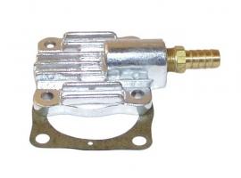 Couvercle de pompe en aluminium + sortie