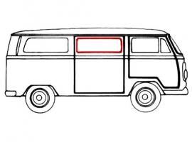 Joint de vitre latérale arrière ou centrale pour Combi