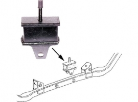 Silentbloc intérieur de support moteur Transporter essence 80/92