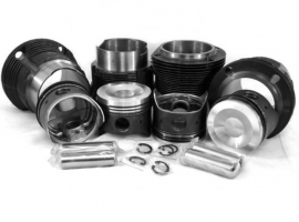Kit chemises/pistons  93mm 1800cc T4 piston creux