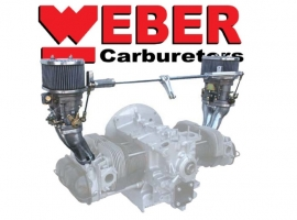 Kit 2 carburateurs WEBER IDF 44 CB PERFORMANCE