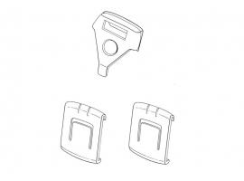 Kit cales de glissière pour un siège 73->