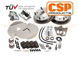 Kit frein à disque avant CSP 5 trous 5 X 205 12/1300 66->