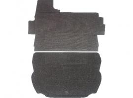 Carton revêtement de coffre inférieur + supérieur moquette rase 1303