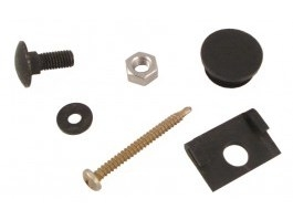 kit de montage coin de pare-chocs plastique T3