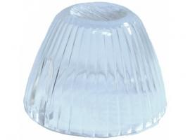 Vitre de clignotant blanche pour karmann 65/69