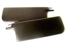 Pare-soleil noir pour cabriolet 65/72 (la paire)