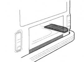 Tôle sous batterie à gauche Combi 68/72
