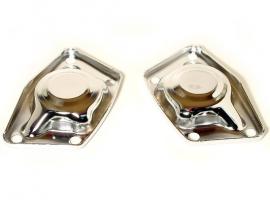 Couvercle de barre de torsion chrome pour 1200/1300 (la paire)