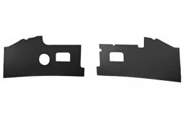 panneaux devant les pieds combi 68/71 noir