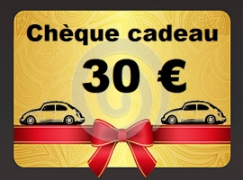 chèque cadeau de 30 euros