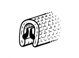Joint de pop-out intérieur blanc (la paire)