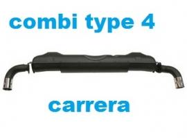 échappement Carrera pour Combi 1.7/1.8/2.0 et T3 1.9