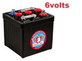 Batterie 6V look vintage  66Ah