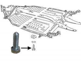 Vis pointue pour fixation caisse sur chassis (les 22)