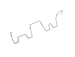 Clip de maintien (fil agrafe de retenu) de tube enveloppe type 4