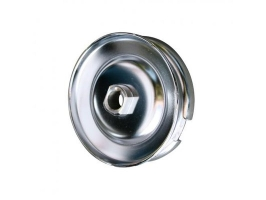 Poulie chrome de dynamo/alternateur 12V