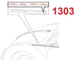 agrafe baguette spéciale moulure 1303 (les4)