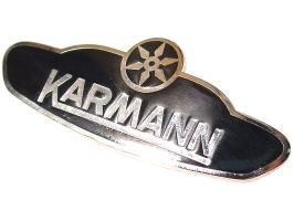 Ecusson KARMANN cox cabriolet